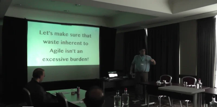 Stefaan Luckermans – Let's make sure that waste inherent to Agile isn't an excessive burden